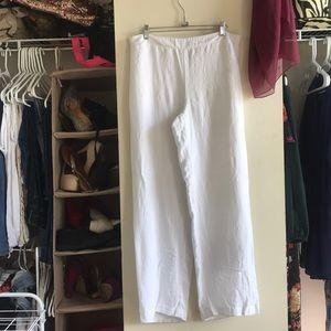 Easywear by Chico's wide leg white pants